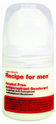 Recipe for Men Alcohol Free Antiperspirant Deodorant - 60 ml