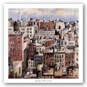 Big Apple by Didier Lourenco Art Print Poster