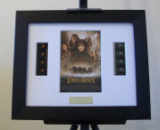 Lord of the Rings Fellowship Framed Original Film Footage Display