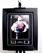 Superman Signed + Original Christopher Reeve Film Footage Limited Edition