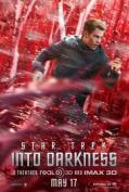 STAR TREK INTO DARKNESS - CHRIS PINE MOVIE FILM WALL POSTER - 30CM X 43CM KIRK
