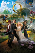 OZ THE GREAT AND POWERFUL - US MOVIE FILM WALL POSTER - 30CM X 43CM JAMES FRANCO MILA KUNIS
