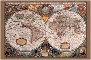 Pyramid International 17Th Century World Map Maxi Poster