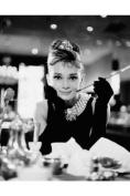 Audrey Hepburn B+W - Mini Poster - 40cm x 50cm