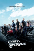 FAST AND THE FURIOUS 6 - US MOVIE FILM WALL POSTER - 30CM X 43CM VIN DIESEL