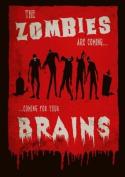 Retro Zombie Poster, A3 Print, wall art, home decor, homewares, goth, horror