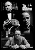 The Godfather - Montage - 3D Lenticular Poster - 50cm x 70cm
