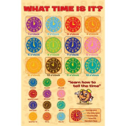 What Time Is It. - Tell The Time - Maxi Poster - 61 cm x 91.5 cm