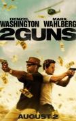 2 GUNS - MARK WAHLBERG - US MOVIE FILM WALL POSTER - 30CM X 43CM DENZEL WASHINGTON