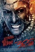 300 RISE OF AN EMPIRE - XERXES - US MOVIE FILM WALL POSTER - 30CM X 43CM