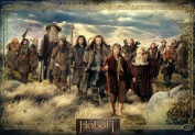 "AbyStyle - Poster - The Hobbit ""Groupe"" 98x68cm - 3760116329439"