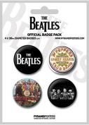Beatles White - Official Badge Pack