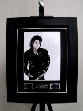 Michael Jackson Signed King of Pop Limited Edition