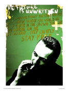 Joe Strummer from The Clash Pop Art Print Poster By Wig