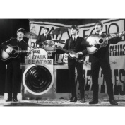 The Beatles The Beatles On stage B & W photo 100% Geuine Official Merchandise