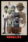 Gorillaz Maxi Poster 61cm x 91.5cm Group Portrait Of The Virtual Band In All Their Animated Glory
