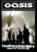 "Oasis - Heathen Chemistry Poster - 76x51cm"""