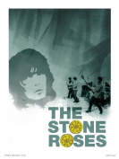 Stone Roses Poster Print by Wig