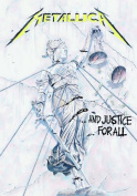 Metallica Justice For All Textile Poster