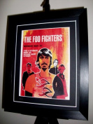 Foo Fighters Limited Edition Framed Gig Poster