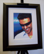 George Michael Limited Edition Framed Canvas Art Print