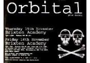 Orbital - Brixton Academy - 70x100cm