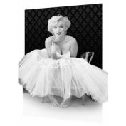 3D Poster Marilyn Monroe Motiv