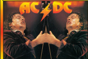 AC/DC - Young Mirrored - 23x18cm