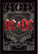 AC/DC Black Ice large textile poster