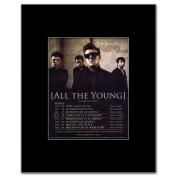 ALL THE YOUNG - UK Tour 2012 - 13.5x10cm