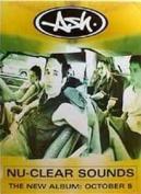 """Ash - Nuclear Sounds Poster - 70x50cm"""""""