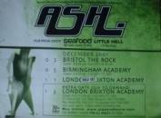 Ash - Tour Dates - 70x100cm