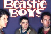 Beastie Boys - Purple Background - 18x23cm