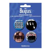 Blue - The Beatles - Badge Pack - 4 x 38mm Badges