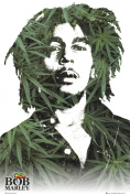 Bob Marley - Leaves - Ragge Music Poster - Maxi Poster size app. 61x91.5 cm