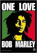 Bob Marley One Love Textile Poster