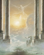Wallsthatspeak 3 Prints Jesus And Angels In Heaven Passion Of Christ