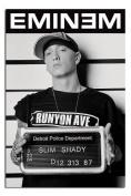 Eminem Slim Shady Mugshot Poster - 91.5 x 61cms