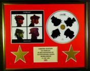 GORILLAZ/CD DISPLAY/ LIMITED EDITION/COA/DEMON DAYS