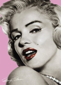 Marilyn Monroe Pink Giant Poster
