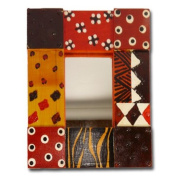 """Mirror frame """"Colours of Africa"""""""