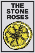 Music Poster Stone Roses Lemon with Additional Item