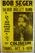 Ron's Past and Present Bob Segar And The Silver Bullet Band Poster