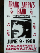 Ron's Past and Present Frank Zappa'S Band In Concert Poster