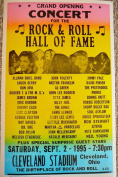 Ron's Past and Present Grand Opening Concert For The Rock & Roll Hall Of Fame W/ Allman Bros, Dr. Dre, Jimmy Page & Many More!