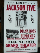 Ron's Past and Present Jackson Five And Diana Ross Poster