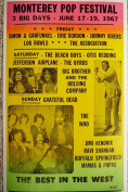 Ron's Past and Present Monterey Pop Festival 3 Big Days Of Music