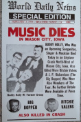 Ron's Past and Present Music Dies Poster