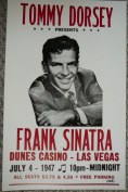 Ron's Past and Present Tommy Dorsey And Frank Sinatra At The Dunes Casino Poster
