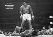 Your Space UK Muhammad Ali V Sonny Liston 1St Round Giant Wall Poster